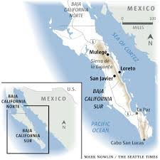 La Paz Mexico Map by From Loreto 3 Day Trip Adventures In Baja U0027s High Desert The