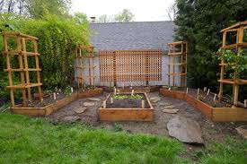 back in the u s a our little raised bed garden
