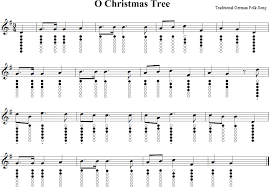 o christmas tree tin whistle music