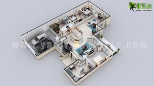 3d residential floorplan design from 3d yantram floor plan