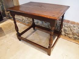 table side lamp hall console oak charles ii 1680 495307