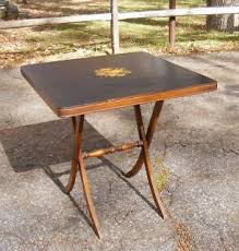 Wooden Folding Card Table Antique Vintage 40 U0027s Or 50 U0027s Ferguson Folding Card Table And