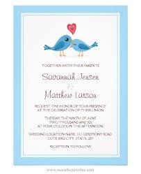 bird wedding invitations blue birds with heart wedding invitation more than invites