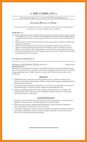 lpn resume exle licensed practical resumes template cv exle lpn resume