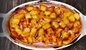 cuisiner le blanc de poulet des blancs de poulet à la sauce bbq au miel aux ananas seulement