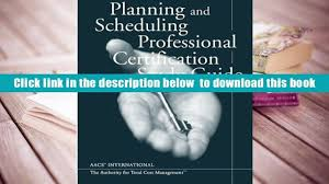 read online planning scheduling professional certification study