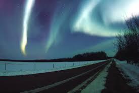 northern lights jasper national park alberta pictures
