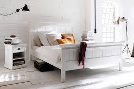 Schlafzimmer Bett 200x200 Bett Halifax Weiß Im Landhausstil Von Novasolo In Verschiedenen