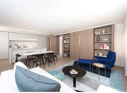 show apartment opens in the renovated blake tower on the barbican