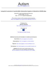 cgi si e social term outcome of social skills pdf available