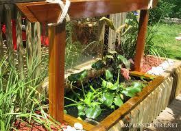 Backyard Feature Wall Ideas 20 Backyard Garden Ponds For All Budgets Water Walls Water