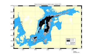 Baltic Sea Map The Bad Oxygen Conditions In The Baltic Sea Continue Smhi