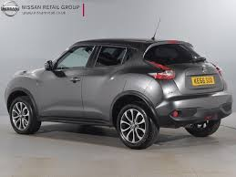 nissan juke grey used nissan for sale juke 1 6 tekna xtronic grey nissan london