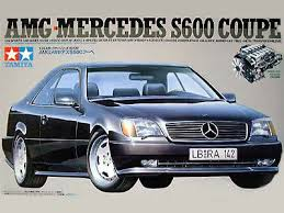 mercedes s600 amg amg mercedes s600 coupe tamiya 24139 1994