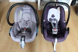 si e auto streety fix comparatifs coques bébé confort pebble vs streety fix