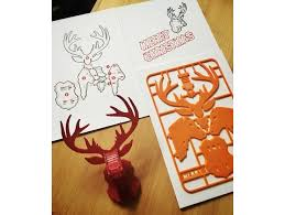 reindeer kit card by tone001 thingiverse