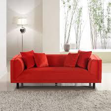red velvet sofa sofas