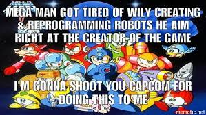 Mega Man Memes - angry mega man rock man meme by deonneon on deviantart
