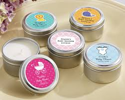 baby shower candle favors baby shower candle tin favors aa gifts baskets