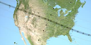 Future Map Of North America by Moon Data Provides More Accurate 2017 Eclipse Path Nasa