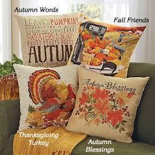 harvest pillows new seasonal fall winter home decor