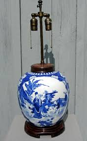 lamps blue and white ginger jars and vases ginger jar lamps