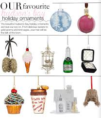 our favourite hudson s bay ornaments pink the town