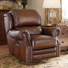 relax and rejuvenate yourself using a leather rocker recliner