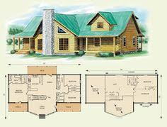 Log Houses Plans Cozy Cabins Small Log Home Plans To Build Your Dream Log