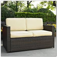 furniture patio loveseat with cushions for exciting outdoor