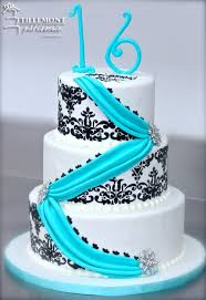 sweet 16 cakes turquoise draperie sweet 16 cakes patisserie tillemont