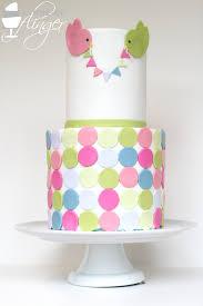 beautiful multicolored baby shower cake baby shower pinterest
