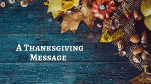 thanksgiving bible message thanksgiving day message 2016 youtube