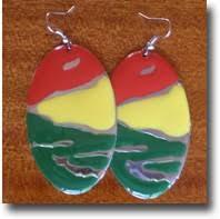 reggae earrings reggae jewelry reggae rasta hawaii directory reggae and rasta