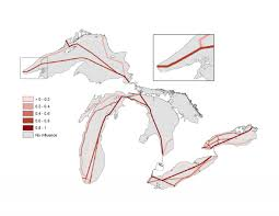 Saginaw Michigan Map by Great Lakes Shipping Lanes Maps Pinterest Lakes