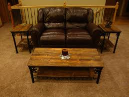 coffee table and end tables handmade western coffee table and end tables by willow creek decor