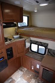 Camper Trailer Kitchen Ideas Rick U0026 Sharon U0027s Truck Pop Up Camper Makeover Truck Camper