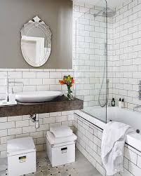 Best Beach Cottage Coastal Bath Images On Pinterest Room - Bathrooms with white tile