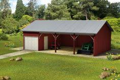 Barn Kits Oklahoma Very Simple 30 X 50 Metal Pole Barn Home In Oklahoma Hq Pictures