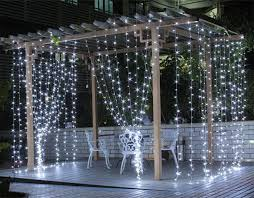 curtain lights why are outdoor led curtain lights better than string