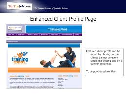 tip top job products services