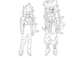 ssj5 goku and vegeta by darkhawk5 on deviantart