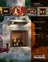 Outdoor Chimney Fireplace by Outdoor Fireplaces U0026 Firepits Heat U0026 Glo Pdf Catalogues