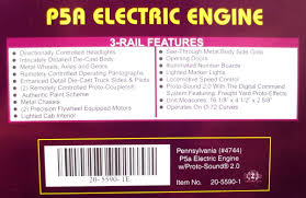 buy mth 20 5590 1 pennsylvania p5a express reefer train set w