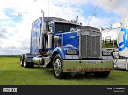 big kenworth trucks alaharma finland august 12 2016 image u0026 photo bigstock