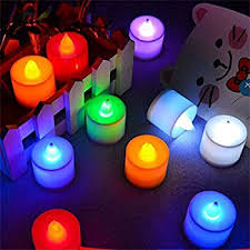 s home color changing everlasting tealights