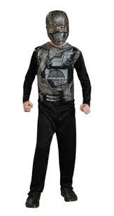 Terminator Halloween Costume Amazon Terminator 600 Action Suit Costume Child Size 8
