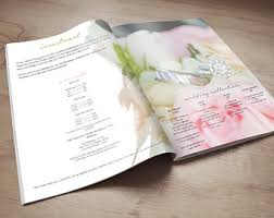 Wedding Magazine Template Magazine Template Etsy