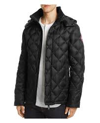 canada goose hendriksen coat in black for men lyst