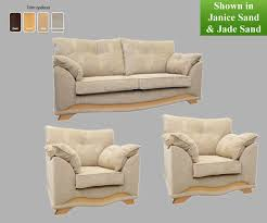3 Seater And 2 Seater Sofa Buoyant Nicole 3 Seater Sofa And 2 Chairs 3 Seater Sofa And 2